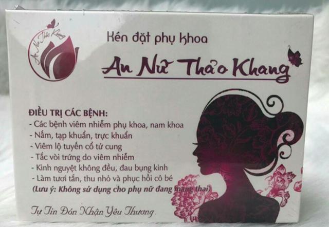 Sở Y tế Hà Nội không kinh doanh, sử dụng sản phẩm mỹ phẩm An nữ thảo khang, Vĩnh Xuân Hồng.