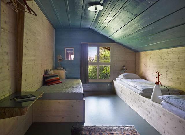 Mỗi một căn phòng nghỉ ngơi đều được chọn cách trang trí khác nhau, không lặp lại tạo sự thoải mái cho mọi người khi sử dụng.