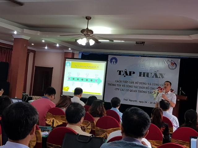 Ông Nguyễn Tân Sơn, Trung tâm đào tạo bồi dưỡng (Tổng cục Dân số) cho biết, yếu tố hàng đầu trong nhiệm vụ và giải pháp là tăng cường sự lãnh đạo, chỉ đạo của cấp uỷ Đảng, chính quyền.