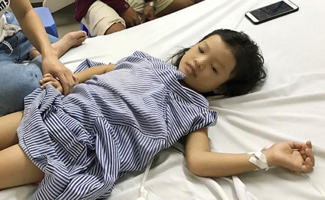 Sau ca phẫu thuật, sức khỏe bé H. đã ổn định. Ảnh: H.T