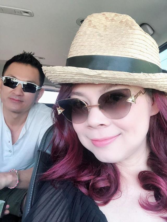 Vợ chồng Thanh Thảo tranh thủ tận hưởng kỳ nghỉ riêng tư.