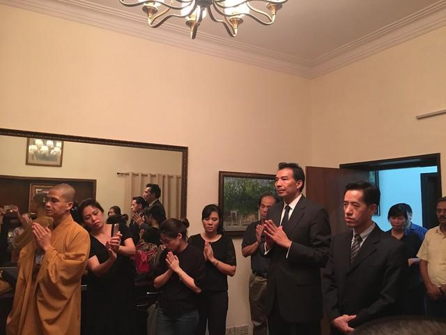 Đại sứ nước CHND Trung Hoa đến lễ viếng Chủ tịch nước