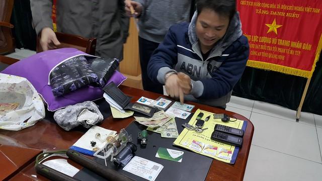 Trịnh Văn Vỵ - một trong những đối tượng mua bán trái phép chất ma túy, vũ khí quân dụng bị bắt khi vận chuyển ma túy.
