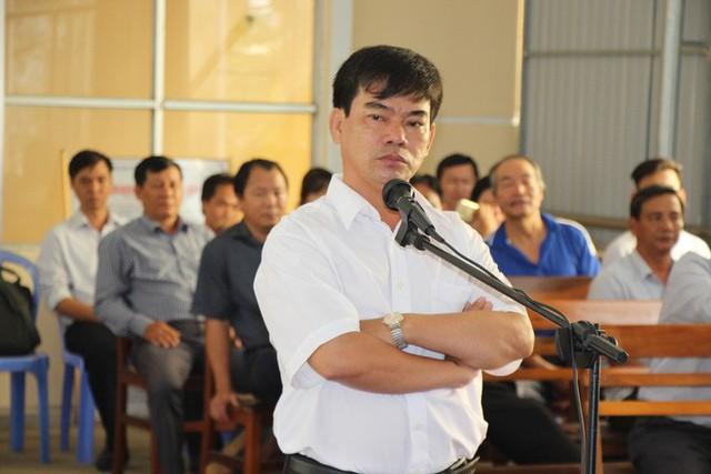 Bị cáo Trần Tuấn Kiệt tại phiên tòa