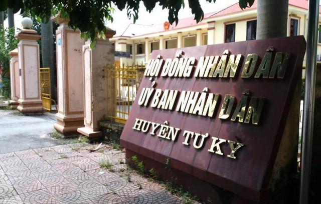 Ông Nguyễn Hồng Quảng hiện đang giữ chức vụ Trưởng phòng Tư pháp huyện Tứ Kỳ. Ảnh: Đ.Tùy