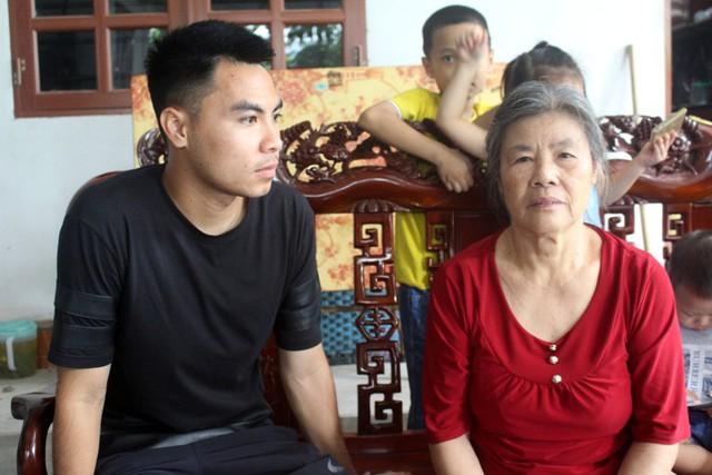 Ước muốn của Đức Huy lúc này là được ở bên người thân và ăn bữa cơm đầm ấm cùng gia đình. Ảnh: Đ.Tùy