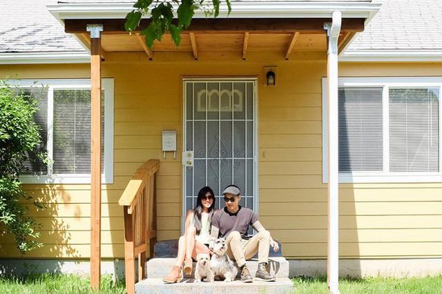 Vợ chồng trẻ chọn cải tạo căn nhà cấp 4 thành không gian tiện ích, nhỏ xinh.