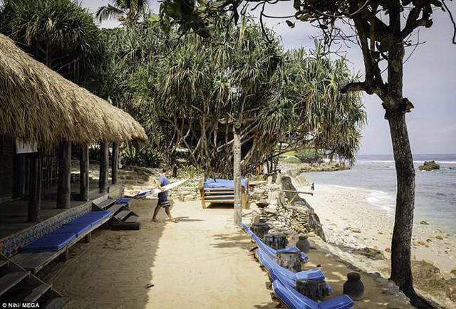 Xung quanh các villa có 270ha rừng cây xanh mát. Mỗi villa được xây dựng từ vật liệu là tre và dây thừng gần gũi thiên nhiên.