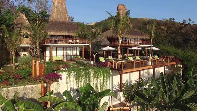 Cảnh quan thiên nhiên của khu nghỉ dưỡng hòa quyện với thiên nhiên đưa đến cảm giác thư thái cho du khách.