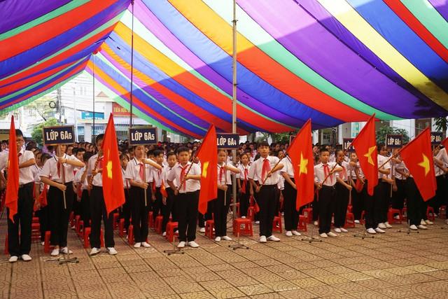 Trường THCS Đằng Hải đón chào năm học mới