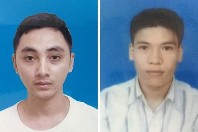 Hai đối tượng Trương Minh Ngọc và Trần Tuấn Anh