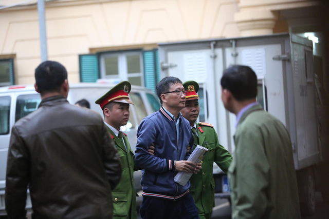 Bị cáo Trịnh Xuân Thanh được giải tới tòa