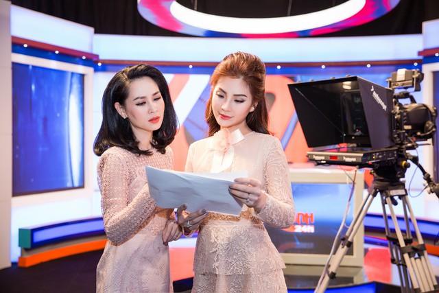 BTV đàn chị hướng dẫn cho Á hậu Diễm Trang