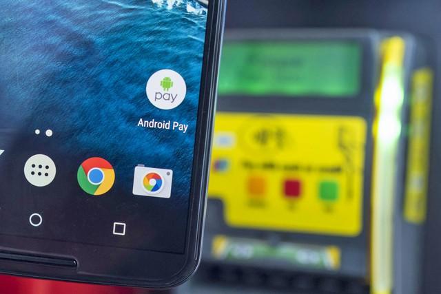 Hãy thử những tính năng như Android Pay trong trường hợp chưa trải nghiệm