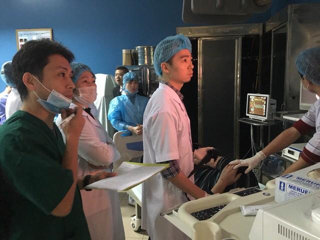 Bệnh viện K bắt đầu triển khai phương pháp nội soi chẩn đoán phát hiện sớm và rất sớm ung thư dạ dày, với sự hợp tác của chuyên gia đến từ Trung tâm ung thư quốc gia Nhật Bản