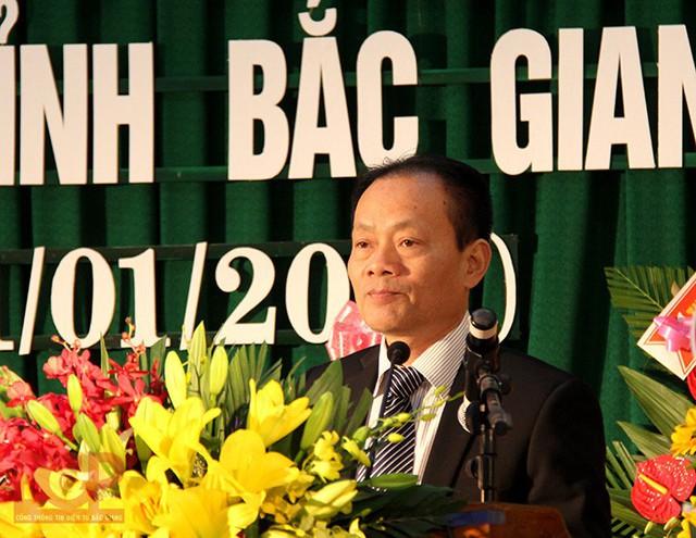 Phó chủ tịch thường trực UBND tỉnh Bắc Giang Lại Thanh Sơn (ảnh: Cổng TTĐT Bắc Giang)