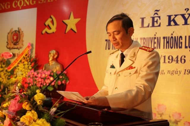Đại tá Đỗ Văn Huyền - Trưởng phòng CSGT tỉnh Bắc Giang