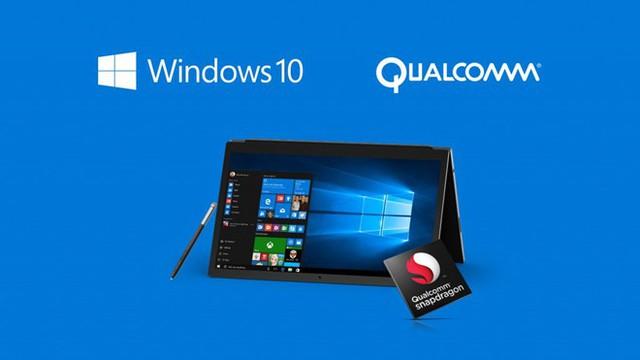 Microsoft đã trình làng thế hệ máy tính sử dụng chip điện thoại Qualcomm. Ảnh: Computer World