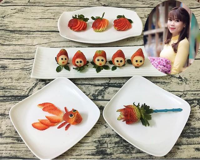 Cô gái Phú Thọ nấu ăn đẹp khiến người nhà 'không nỡ ăn'