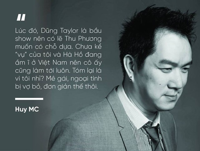 Sau khi chia tay Huy MC tiết lộ sự thật khiến nhiều người bất ngờ về Thu Phương và mối quan hệ với Hà Hồ.