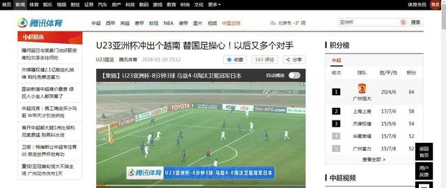 Báo qq: Giải U23 Châu Á Việt Nam xông lên!