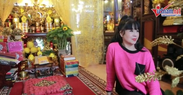 Ngôi nhà kỳ lạ của diễn viên Lan Hương Em bé Hà Nội