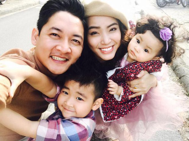 Gia đình hạnh phúc của Thành Đạt - Hải Băng.