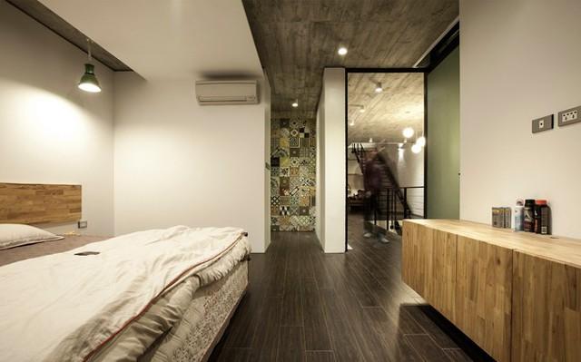 Phòng ngủ chính ở tầng 2