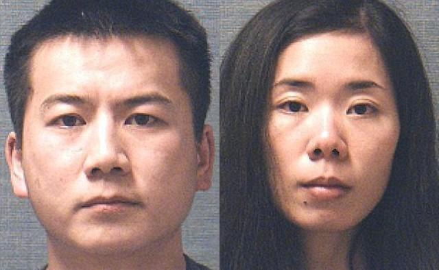 Chân dung ông chồng và người vợ đã sát hại con gái.