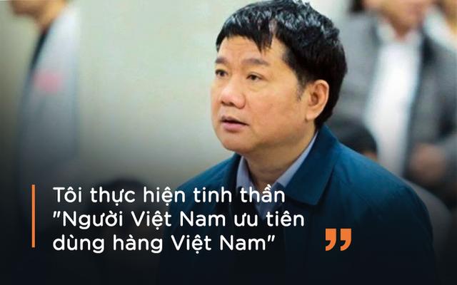Ông Thăng giải thích việc chỉ định PVC là nhà thầu cho dự án Nhà máy nhiệt điện Thái Bình 2 tại tòa ngày 10/1.
