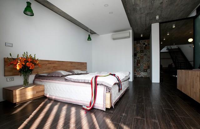 Phòng ngủ rộng rãi, thoáng đãng