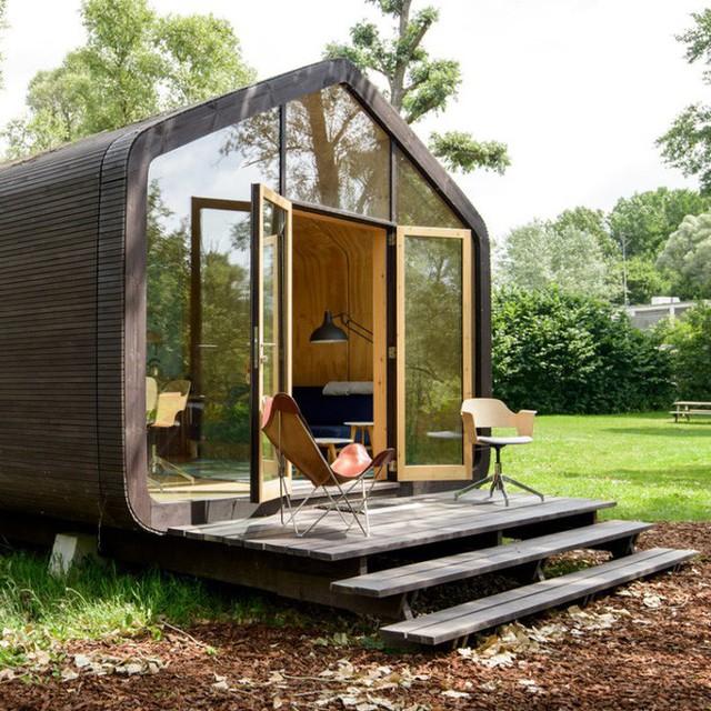 Bạn sẽ được tận hưởng một kỳ nghỉ tuyệt vời ở trong rừng, bên bờ sông, biển khi nghỉ ngơi bên trong ngôi nhà đặc biệt này.