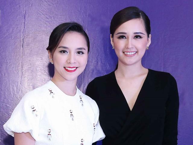 Á hậu Thiên Lý và Hoa hậu Mai Phương Thúy - người hơn cô 1 tuổi, đi thi hoa hậu trước 1 năm.