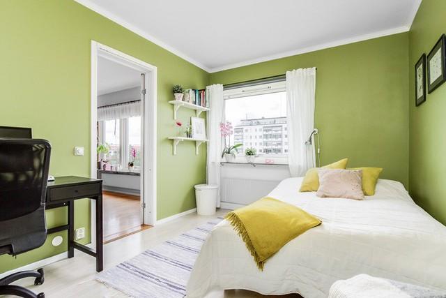 Phòng ngủ trở thành thành phần cá biệt bên trong căn hộ này.