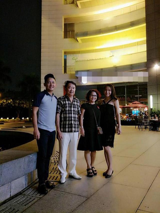 Dù xây dựng tổ ấm riêng không phải làm dâu nhưng Hải Băng rất được lòng bố mẹ chồng và những người thân bên gia đình Thành Đạt.