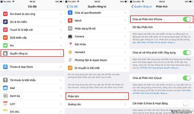 Các bước nhân viên Apple sẽ hướng dẫn bạn để truy cập vào tính năng hỗ trợ từ xa