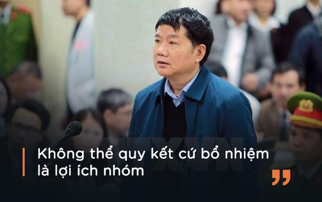 Ông Đinh La Thăng cho rằng VKS quy kết cho mình lợi ích nhóm tại tòa ngày 16/1.