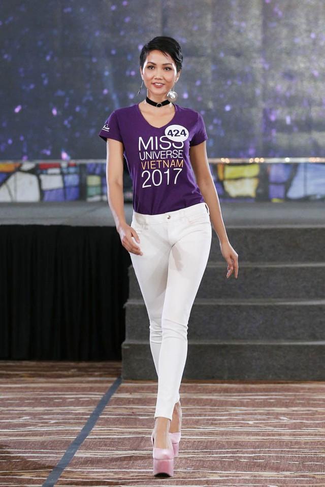 Những hình ảnh ấn tượng của HHen Niê trong cuộc thi Hoa hậu Hoàn vũ Việt Nam 2017.