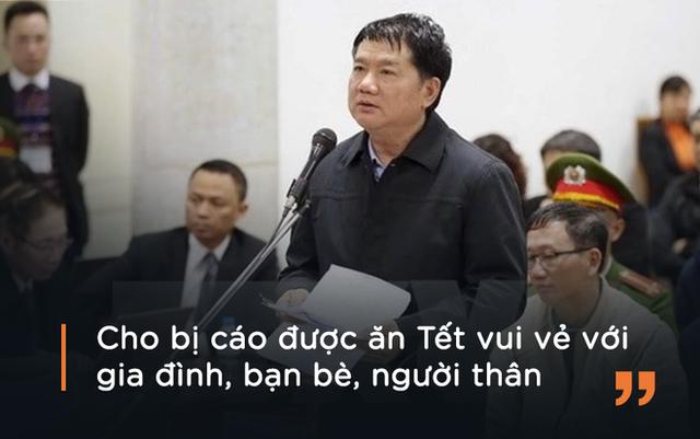 Ông Đinh La Thăng xin được thay đổi biện pháp ngăn chặn khi nói lời sau cùng tại tòa ngày 17/1