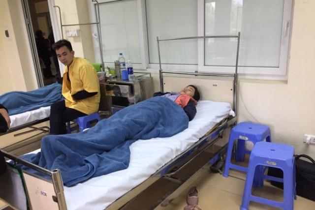 Hiện nay, còn 2 nạn nhân đang nằm điều trị tại Bệnh viện Việt Nam - Thụy Điển Uông Bí. Ảnh: H.Quốc