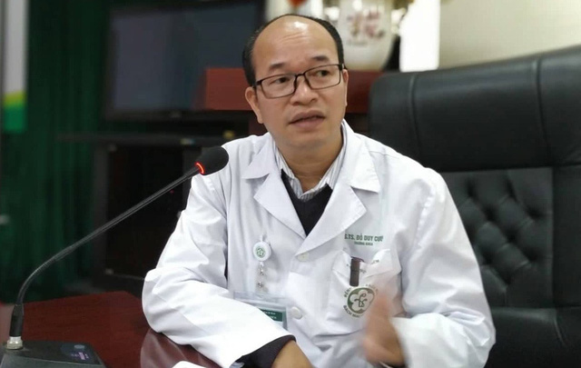 PGS.TS Đỗ Duy Cường, Trưởng khoa Truyền nhiễm, Bệnh viện Bạch Mai