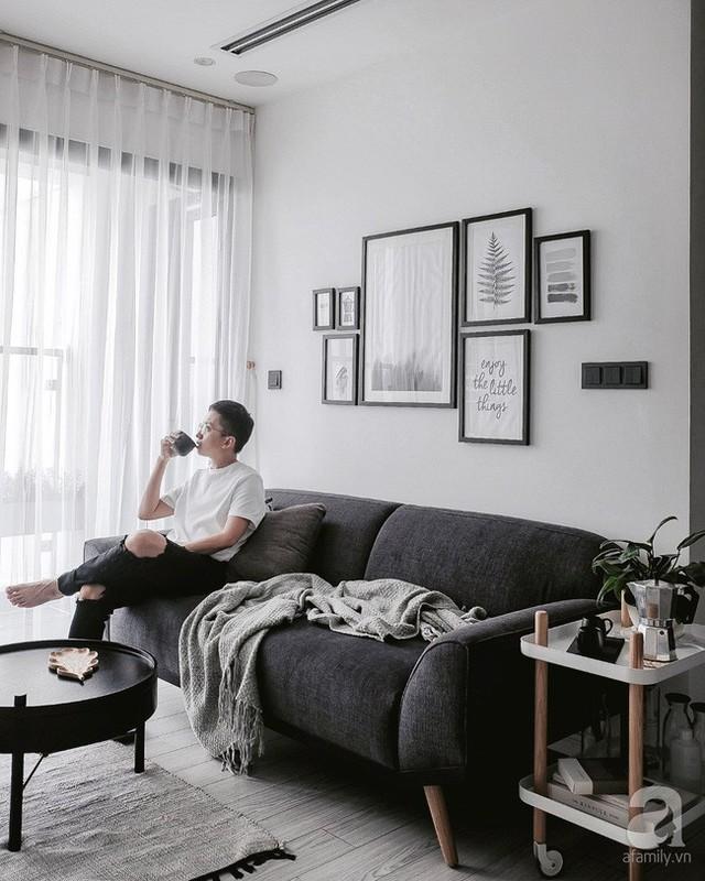 Căn hộ vô cùng đặc biệt với nội thất, vật dụng đậm chất Bắc Âu.