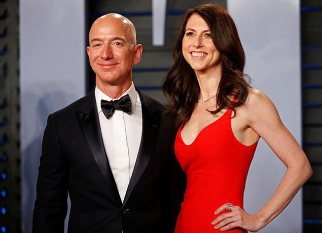 Hôn nhân của vợ chồng tỷ phú Jeff Bezos từng khiến cả thế giới ngưỡng mộ.