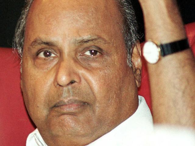 Ảnh chụp nhà sáng lập Dhirubhai vào năm 2002 - © Reuters