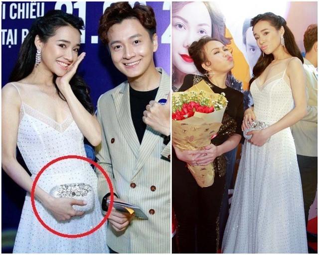 Vòng 2 to bất thường của nữ diễn viên sau cưới chồng, khiến dư luận hoài nghi cô đang mang bầu.
