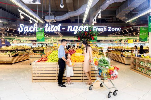 Các chị em tha hồ lựa chọn hàng nghìn sản phẩm tươi ngon, đảm bảo chất lượng cho dịp Tết tại VinMart & VinMart+