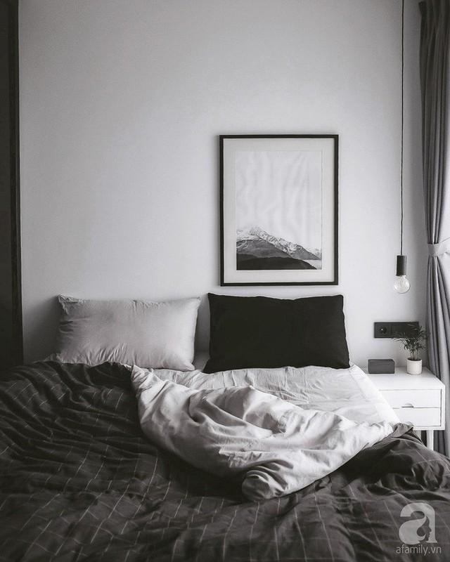 Phòng ngủ đẹp giản dị, vẻ đẹp đậm chất Scandinavian với cách phối màu ấn tượng.