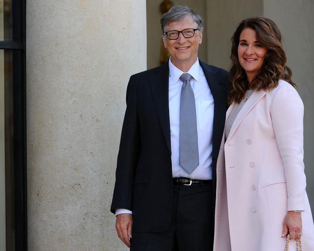Tỷ phú Bill Gates và vợ Melinda Gates có cuộc hôn nhân bền vững gần 30 năm. Ảnh: Getty.