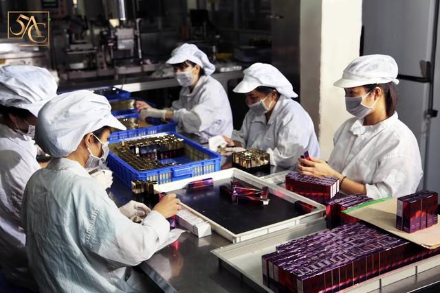 Cận cảnh quy trình sản xuất tại nhà máy M&M Việt Nam