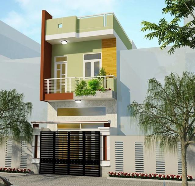 Với chi phí khoảng 700 triệu đồng, ngôi nhà 60m2 một trệt, một lầu mang đến một hình ảnh không gian sống ấm áp, dung dị và gắn kết gia đình.